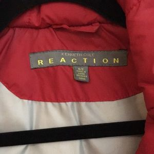 Kenneth Cole Jackets & Coats - Red down vest by Kenneth Cole